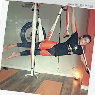 yoga aéreo