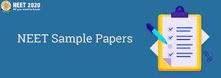 NEET Sample Papers, neet 2020 sample paper by nta, neet sample paper 2020 pdf download