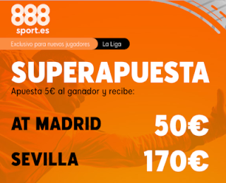 888sport superapuesta liga Atletico vs Sevilla 7 marzo 2020