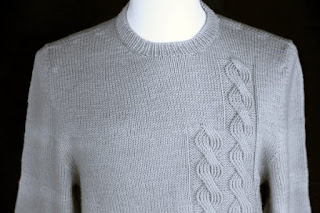 Triple Mock Cable Sweater