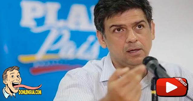 Le cayeron a pedradas a Carlos Ocariz en Cúa al salir de una reunión