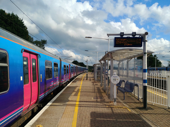 Brookmans Park station - image by North Mymms News released under Creative Commons