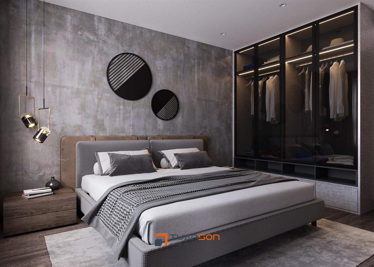 Thiết kế phòng ngủ Master đẹp tại Vinhomes Smart City