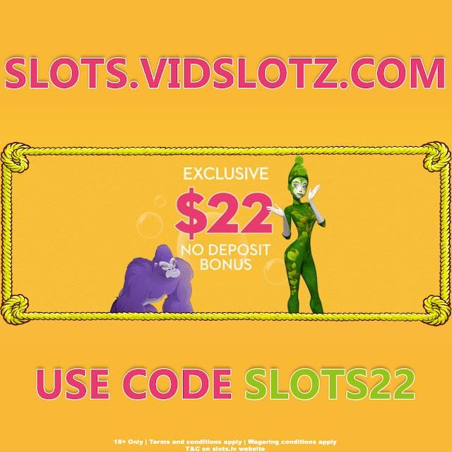 22 Free Dollars From SLOTS.LV No Deposit Needed