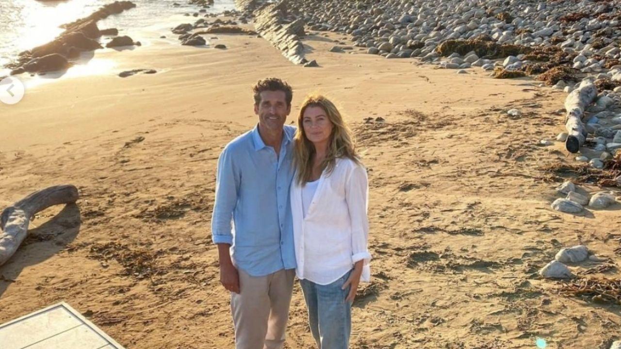 Ellen Pompeo y Patrick Dempsey juntos en Grey's Anatomy