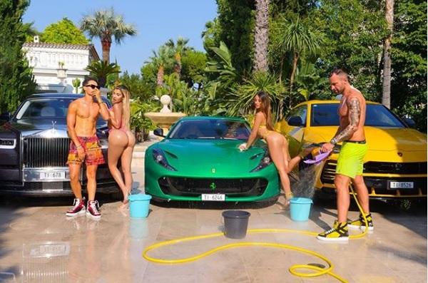 Ferrari en pie de guerra con Phillipp Plein