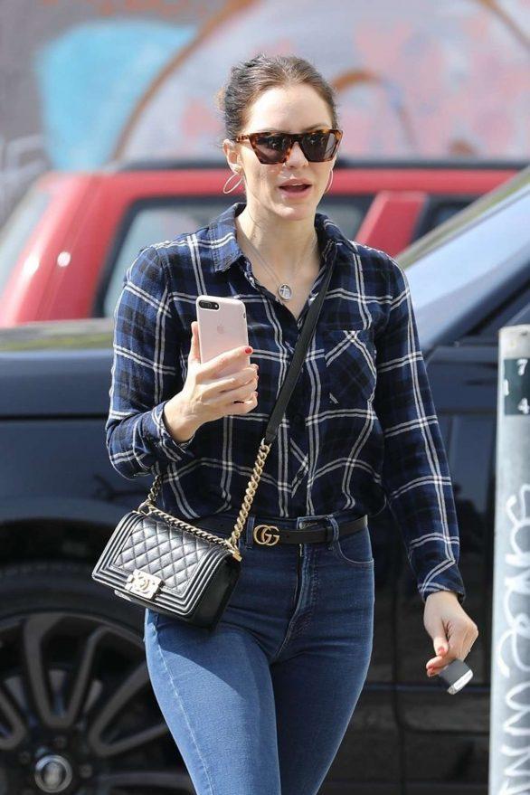 Katharine McPhee Looks Hot in Denim Jeans