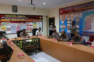 Polres Pelabuhan Makassar Gelar Lat Pra Ops Bina Kusuma 2020