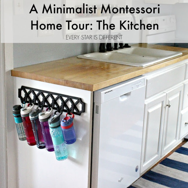 A Minimalist Montessori Home Tour: The Kitchen
