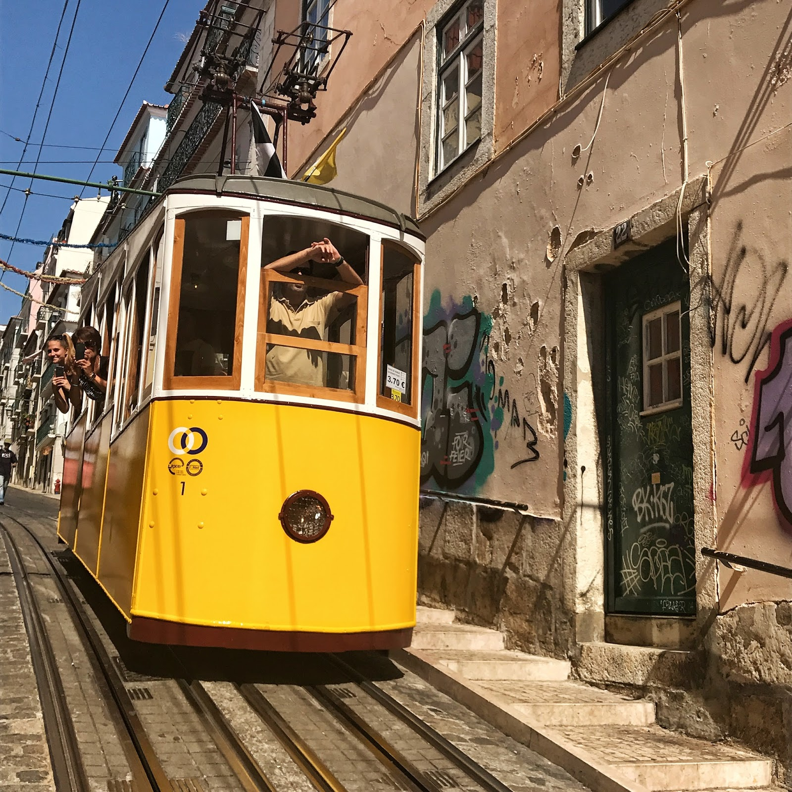 Elevador Da Bica - One of Lisbon's best Instagram photo locations