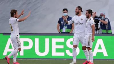 ريال مدريد يرد على برشلونة: 3-1 في إيبار