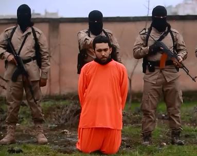 Ejecución de Isis a un Prisionero