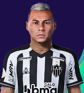 PES 2021 Faces Eduardo Vargas by Lucas