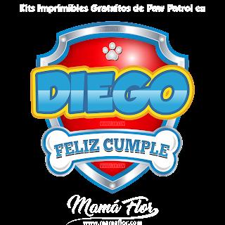 Logo de Paw Patrol: DIEGO