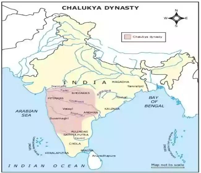 দক্ষিণ ভারতে চালুক্য সাম্রাজ্য
