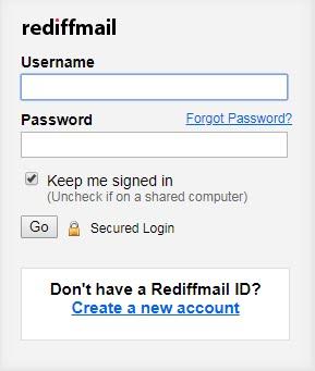 Rediff Mail