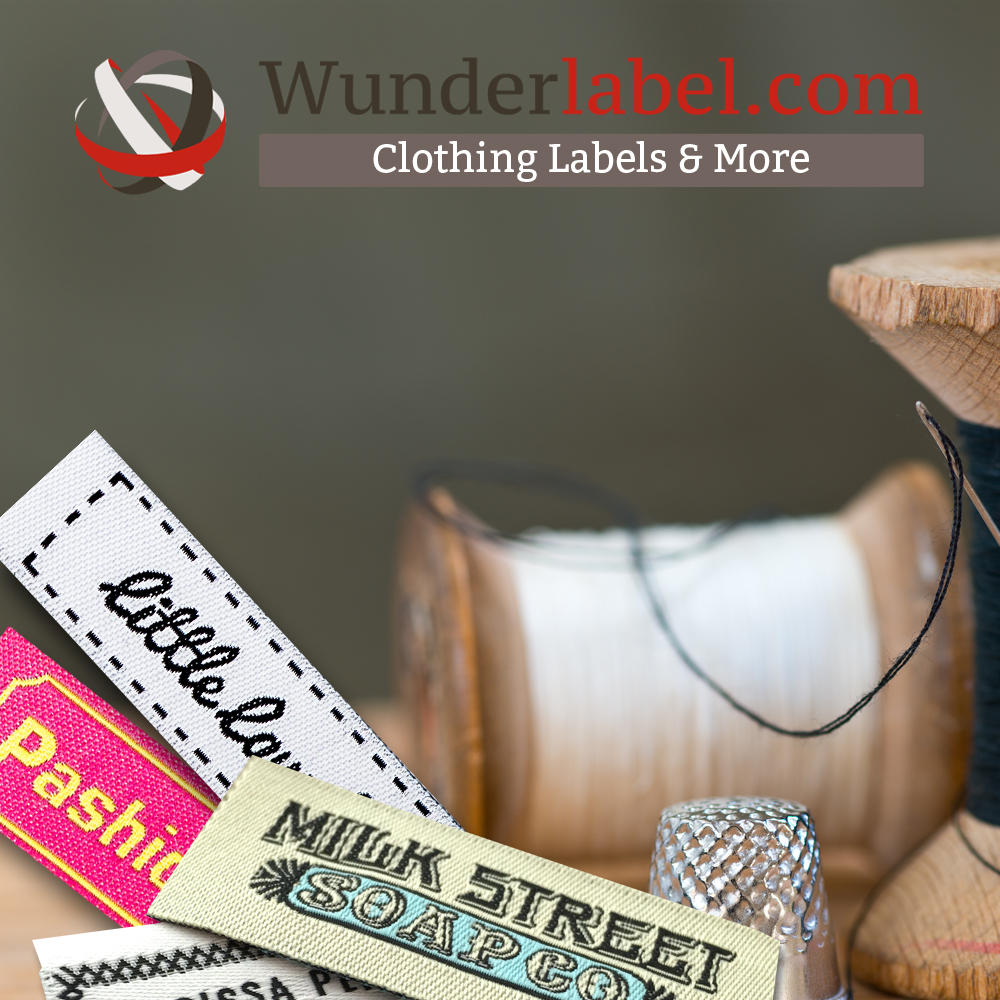 Flashback Summer: Custom Wunderlabel clothing labels