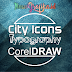 Membuat Typography Logo di CorelDraw - City Icon