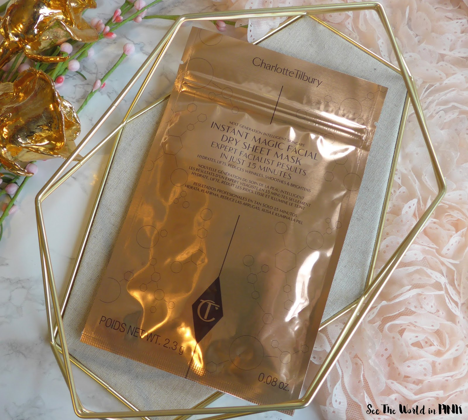 Skincare Sunday - Charlotte Tilbury Instant Magic Facial Dry Sheet Mask