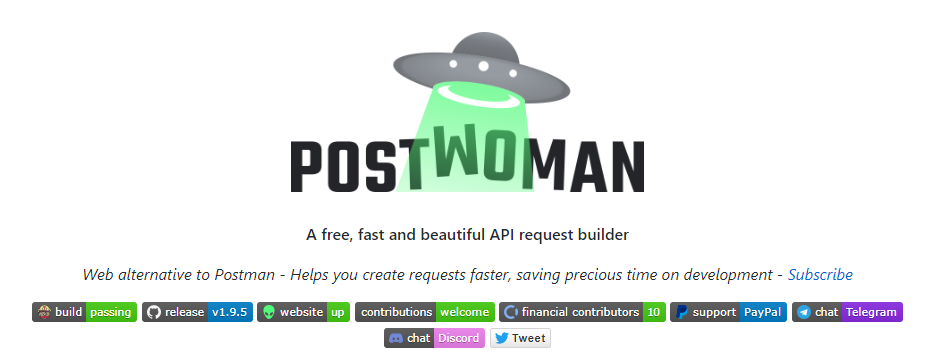 Postwoman - Top API testing tools - RightQA