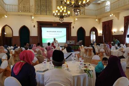 Atria Berangkatkan 91 Calon Haji Khusus, Jamaah Antusias Ikuti Bimbingan Manasik