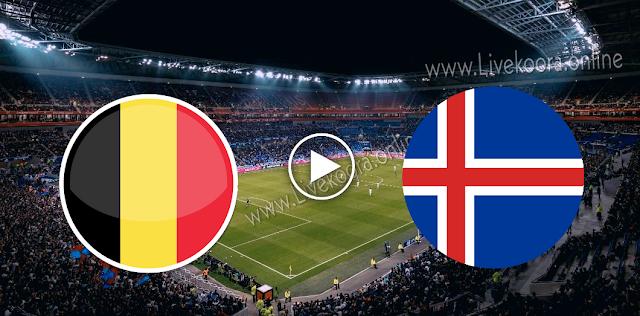 موعد مباراة بلجيكا وأيسلندا بث مباشر بتاريخ 08-09-2020 دوري الأمم الأوروبية