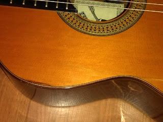Guitarra española Prudencio Sáez. Segunda mano.