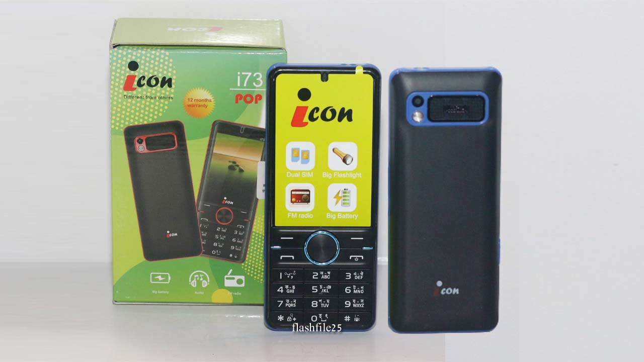 icon i73 Flash File (Stock Firmware). You can easily download after install the flash file on your mobile phone.