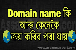 What is Domain Name and How to Buy A Domain Name | Learn in Assamese