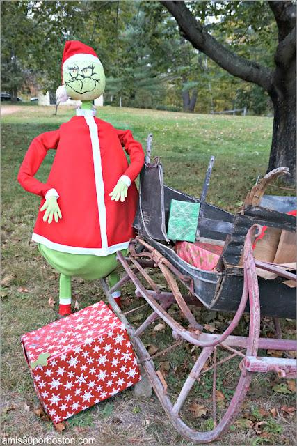 El Grinch en el Return of the Pumpkin People de Jackson en New Hampshire