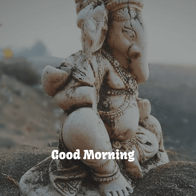 ganpati ji good morning images