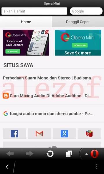 opera mini blackberry 10 download