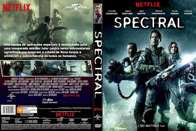 Capa DVD Spectral