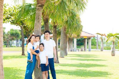 沖縄 結婚10周年 写真
