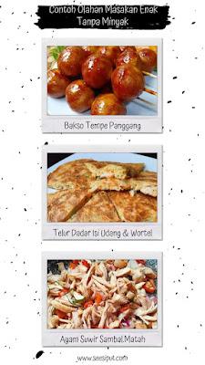 Masakan Tanpa Minyak Part 2