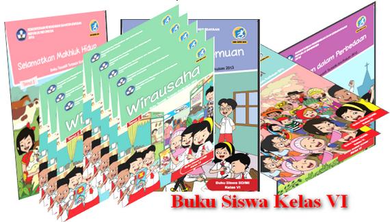 Buku Siswa K13 Revisi 2018 Kelas 6 SD/MI Semesetr 1