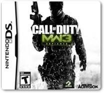 Rom Call of Dut: Modern Warfare 3 Defiance NDS