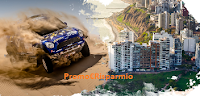 Logo Vinci gratis un viaggio in Perù in occasione della Dakar