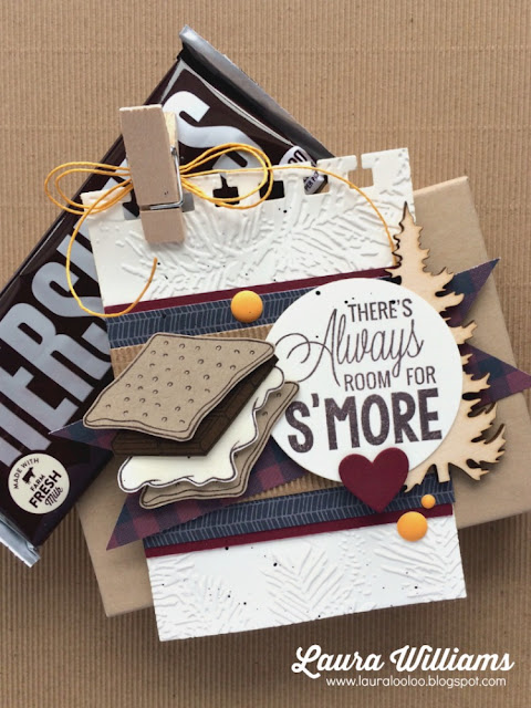 There's Always Room for S'More {s'mores gift basket tag}