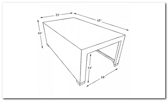 AVERAGE COFFEE TABLE SIZE;Average Size Of Coffee Table;