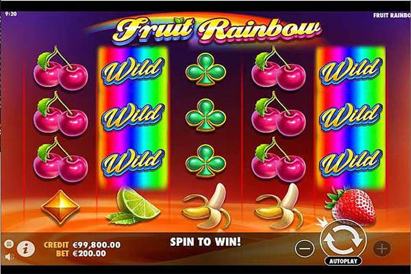 Main Gratis Slot Indonesia - Fruit Rainbow (Pragmatic Play)