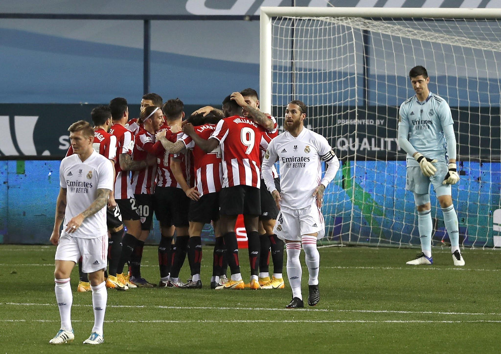 Athletic de Bilbao venció a Real Madrid y jugará la final contra Barcelona