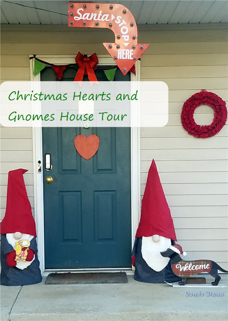 Christmas out door decoration house tour