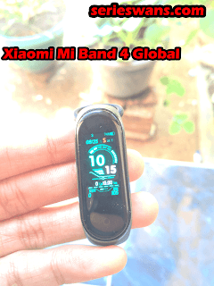 Review Xiaomi Mi Band 4 China/Global Display Amoled NFC/Non-NFC