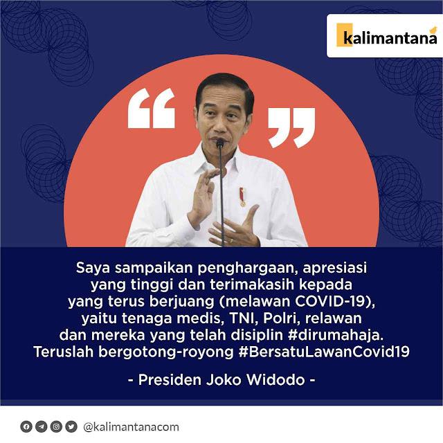 Pidato Jokowi Untuk Tenaga Medis