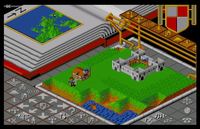 Indie Retro News: Populous - A brilliant Strategy game