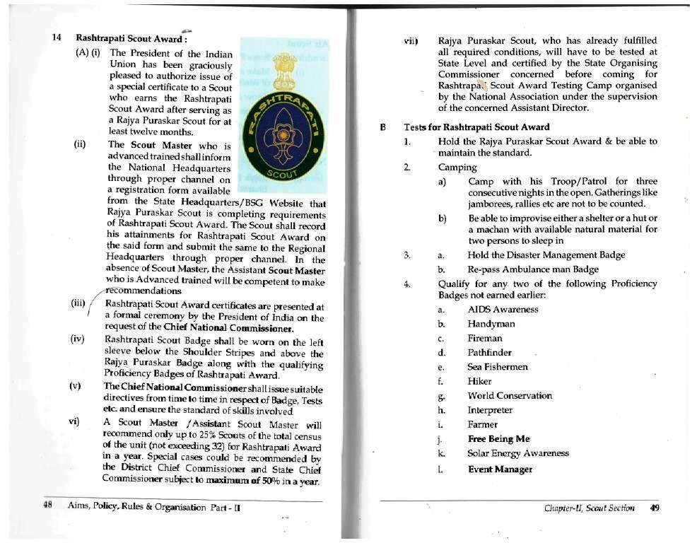 pravesh to rashtrapati syllabus f scout section as per new apro ii rh bsgkvfazilka blogspot com Apro Yogurt bharat scout and guide new apro