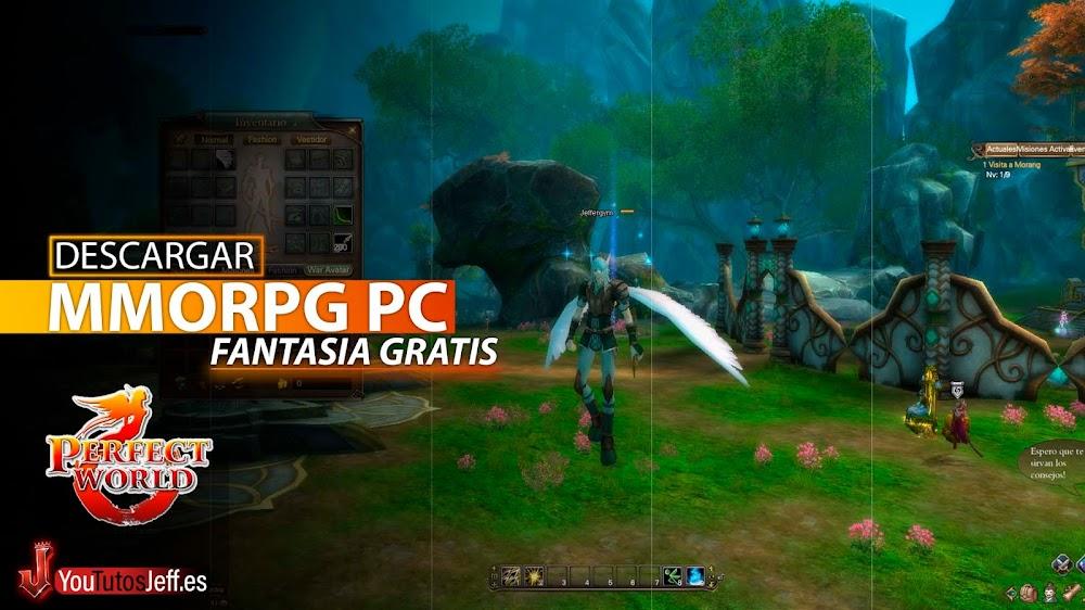 MMORGP para PC Gratis, Descargar Perfect World Ultima Versión Español