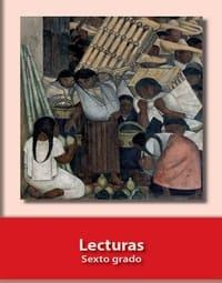 Libro de texto  Español Lecturas Sexto grado 2021-2022