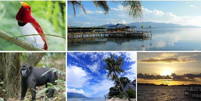 Tempat Wisata pada Pulau Bacan maluku